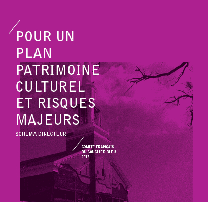 Couverture du Plan Patrimoine culturel et risques majeurs