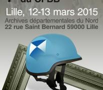 Journées d'études 2015 du cfbb | AD Lille