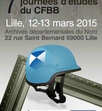 7èmes journées d'études du Bouclier Bleu | 12-13 mars 2015 – Lille