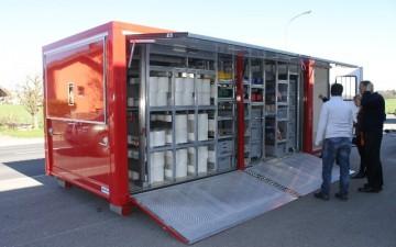 Genève | Conteneur mobile de sauvetage des biens  culturels en cas de sinistres