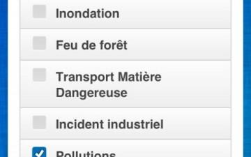 Cartographie et prévention des risques, applications et sites dédiés