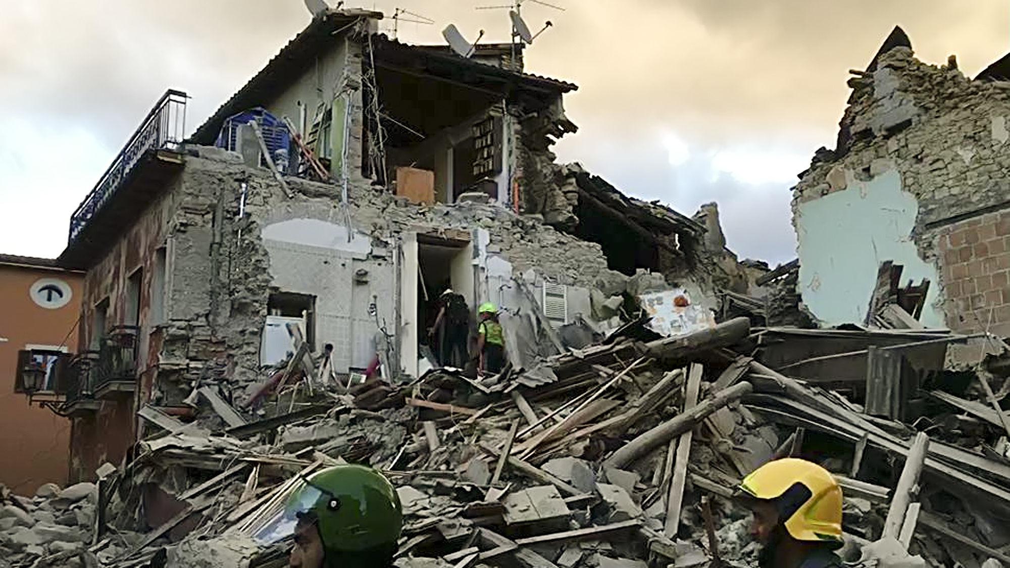 seisme en Italie 2016