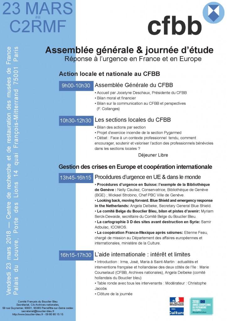 Programme AG cfbb 0903