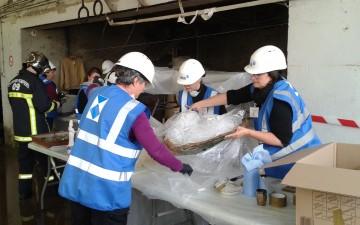 Exercice de simulation de sinistres | 15-16-17 Octobre 2018 à Mirepoix, Ariège