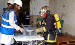 Les pompiers ariégeois formés aux premiers secours des œuvres d'art